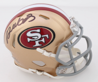Deebo Samuel Signed 49ers Speed Mini Helmet (Beckett COA) at PristineAuction.com