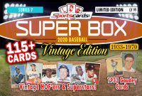 "Sportscards.com ""SUPER BOX"" 1933 to 1970 VINTAGE BASEBALL EDITION Mystery Box - Series 7 at PristineAuction.com"