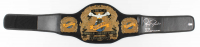 """Royce Gracie Signed Full-Size UFC #1 Championship Belt Inscribed """"HOF 03"""" & """"UFC 1, 2 & 4 Champ"""" (PA COA) at PristineAuction.com"""
