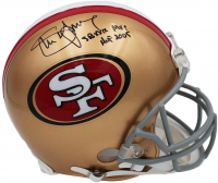 "Steve Young Signed 49ers Full-Size Authentic On-Field Helmet Inscribed ""SB XXIX MVP"" & ""HOF 2005"" (Radtke COA) at PristineAuction.com"