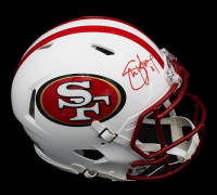 Steve Young Signed 49ers Full-Size Authentic On-Field Matte White Speed Helmet (Radtke COA) at PristineAuction.com