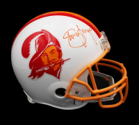 Steve Young Signed Buccaneers Full-Size Authentic On-Field Helmet (Radtke COA) at PristineAuction.com