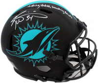 "Ricky Williams Signed Dolphins Full-Size Authentic On-Field Eclipse Alternate Speed Helmet Inscribed ""Hitting Holes, Smoking Bowls"" (Radtke COA) at PristineAuction.com"