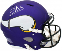 Daunte Culpepper Signed Vikings Authentic On-Field Full-Size Speed Helmet (Radtke COA) at PristineAuction.com