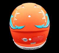 Dan Marino Signed Dolphins Full-Size Authentic On-Field AMP Alternate Speed Helmet (Fanatics Hologram) at PristineAuction.com