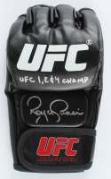 "Royce Gracie Signed UFC Glove Inscribed ""UFC 1, 2 & 4 Champ"" (PA COA) at PristineAuction.com"