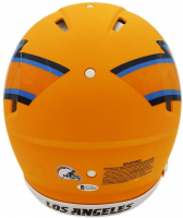 Austin Ekeler Signed Chargers Full-Size Authentic On-Field AMP Alternate Speed Helmet (Beckett COA) at PristineAuction.com