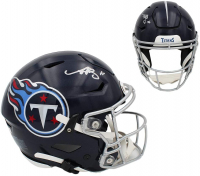A. J. Brown Signed Titans Full-Size Authentic On-Field SpeedFlex Helmet (Radtke COA) at PristineAuction.com