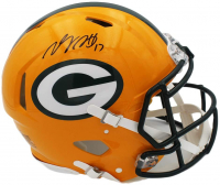 Davante Adams Signed Packers Full-Size Authentic On-Field Speed Helmet (Radtke COA) at PristineAuction.com