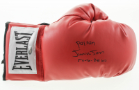 "Junior Jones Signed Everlast Boxing Glove Inscribed ""Poison"" & ""50-6-28 KO""(Schwartz Sports COA) at PristineAuction.com"