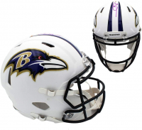 Earl Thomas Signed Ravens Full-Size Authentic On-Field Matte White Speed Helmet (Radtke COA) at PristineAuction.com