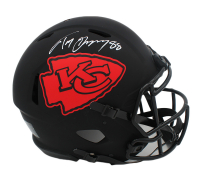 Tony Gonzalez Signed Chiefs Full-Size Authentic On-Field Eclipse Alternate Speed Helmet (Radtke COA) at PristineAuction.com