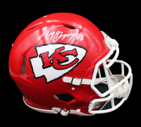 Tony Gonzalez Signed Chiefs Full-Size Authentic On-Field Speed Helmet (Radtke COA) at PristineAuction.com
