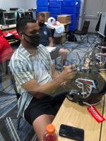 Tony Gonzalez Signed Falcons Full-Size Authentic On-Field SpeedFlex Helmet (Radtke COA) at PristineAuction.com