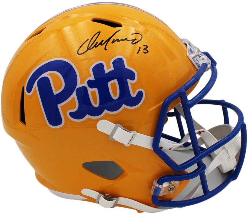 Dan Marino Signed Pittsburgh Panthers Full-Size Speed Helmet (Fanatics Hologram) at PristineAuction.com