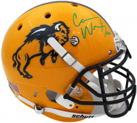 Carson Wentz Signed North Dakota State Bison Full-Size Authentic On-Field Helmet (Fanatics Hologram) at PristineAuction.com