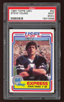 Steve Young 1984 Topps USFL #52 XRC (PSA 9) (OC) at PristineAuction.com