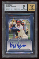 Hank Aaron 2011 Topps 60 Autographs #HA (BGS 9) at PristineAuction.com