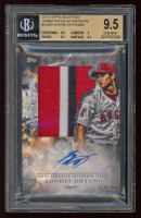 Shohei Ohtani 2018 Topps Inception Jumbo Patch Autographs #IAJSO (BGS 9.5) at PristineAuction.com