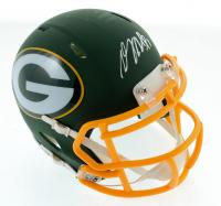 Davante Adams Signed Packers AMP Alternate Speed Mini Helmet (JSA COA) at PristineAuction.com