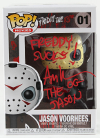 "Ari Lehman Signed ""Friday the 13th"" - Jason Voorhees #01 Funko Pop! Vinyl Figure Inscribed ""Freddy Sucks!"" & ""The OG Jason"" (PA COA) (See Description) at PristineAuction.com"