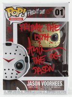 """Ari Lehman Signed """"Friday the 13th"""" - Jason Voorhees #01 Funko Pop! Vinyl Figure Inscribed """"Friday the 13th"""" & """"The OG Jason"""" (PA COA) (See Description) at PristineAuction.com"""