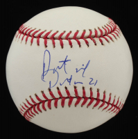 Patrick Peterson Signed OML Baseball (PSA Hologram) at PristineAuction.com