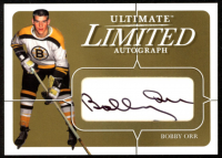 Bobby Orr 2003-04 BAP Ultimate Memorabilia Autographs Gold #153 at PristineAuction.com