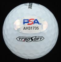 Hideki Matsuyama Signed Waste Management Phoenix Open Logo Golf Ball (PSA Hologram) at PristineAuction.com