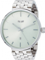 Vestal Roosevelt Metal Quartz Stainless Steel Men's Watch at PristineAuction.com