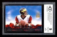 Tom Brady 2000 Crown Royale Rookie Royalty #2 RC (BCCG 9) at PristineAuction.com
