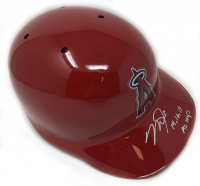 "Mike Trout Signed Angels Full-Size Batting Helmet Inscribed ""14, 16, 19 AL MVP"" (MLB Hologram) at PristineAuction.com"