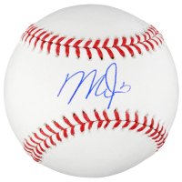 Mike Trout Signed OML Baseball (MLB Hologram) at PristineAuction.com