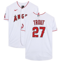 Mike Trout Signed Angels Jersey (MLB Hologram) at PristineAuction.com