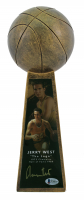 "Jerry West Signed Lakers 14"" Championship Basketball Trophy (Beckett COA) at PristineAuction.com"