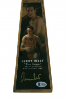 """Jerry West Signed Lakers 14"""" Championship Basketball Trophy (Beckett COA) at PristineAuction.com"""
