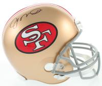 Joe Montana Signed 49ers Full-Size Helmet (JSA COA) at PristineAuction.com