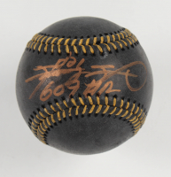 "Sammy Sosa Signed OML Black Leather Baseball Inscribed ""609 HR"""" (Beckett COA) at PristineAuction.com"