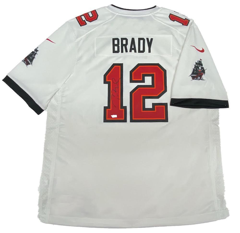 tom brady jersey auction