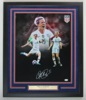 Megan Rapinoe Signed Team USA 22.5x26.5 Custom Framed Photo Display (JSA COA) at PristineAuction.com