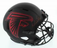 Matt Ryan Signed Falcons Full-Size Eclipse Alternate Speed Helmet (Beckett COA) at PristineAuction.com