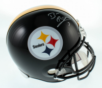 Ben Roethlisberger Signed Pittsburgh Steelers Full-Size Helmet (Fanatics Hologram) at PristineAuction.com