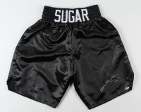 Sugar Ray Leonard Signed Boxing Trunks (PSA COA) at PristineAuction.com