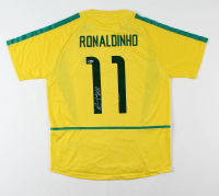 """Ronaldinho Signed Jersey Inscribed """"Rio"""" (Beckett COA) at PristineAuction.com"""