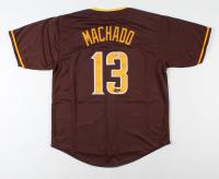 Manny Machado Signed Jersey (Beckett COA) at PristineAuction.com
