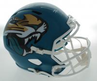 D.J. Chark Signed Jaguars Full-Size AMP Alternate Speed Helmet (Beckett COA) at PristineAuction.com