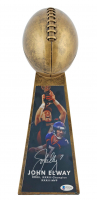 "John Elway Signed 15"" Football Championship Trophy (Beckett COA) at PristineAuction.com"