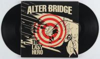 "Myles Kennedy, Mark Tremonti, Brian Marshall & Scott Phillips Signed Alter Bridge ""The Last Hero"" Vinyl Record Album (JSA COA) at PristineAuction.com"