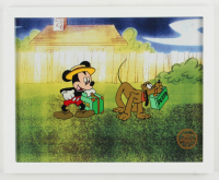 "Walt Disney's LE ""Mr. Mouse Takes A Trip"" 12x15 Custom Framed Animation Serigraph Display at PristineAuction.com"