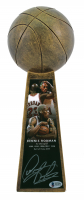 "Dennis Rodman Signed 14"" Basketball Championship Trophy (Beckett COA) at PristineAuction.com"
